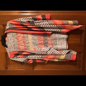 Sweaters - Flamingo Urban Multi-Colored Striped Cardigan
